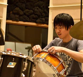 ドラムチューニング教室講師 北村 優一